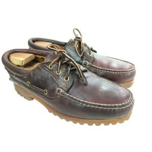 Vintage TIMBERLAND Brown Shoes Sz. 9.5 W